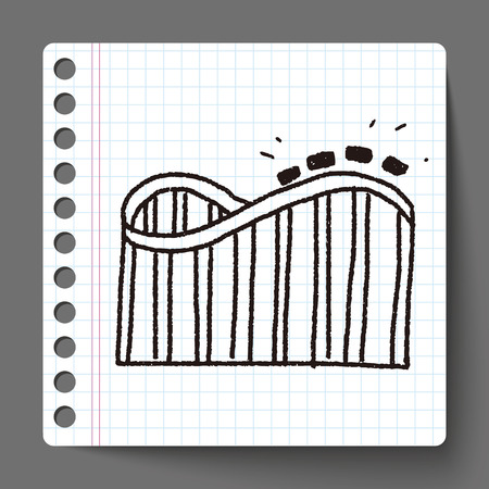coaster: Roller coaster doodle