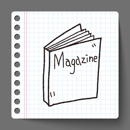 read magazine: magazine doodle
