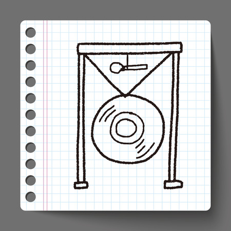 gong: gong doodle