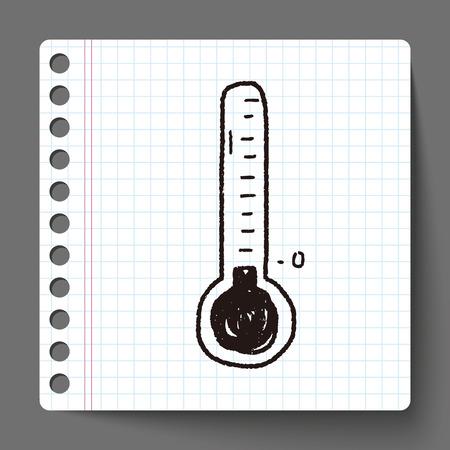 frozen doodle Vector