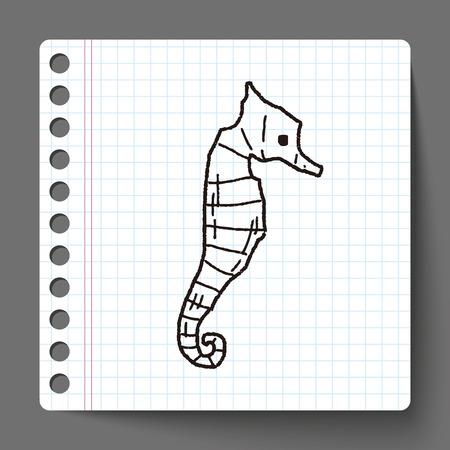 hippocampus: Hippocampus doodle
