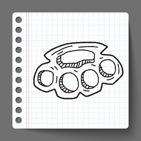 knuckles: Knuckles doodle