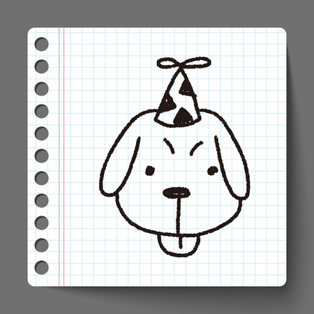 astrologist: doodle birthday dog