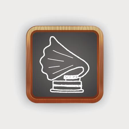 gramophone: gramophone doodle