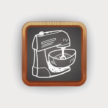 kitchen equipment: mixer doodle