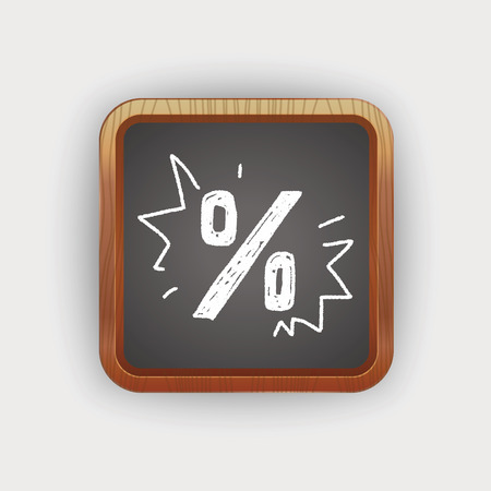 percentage: percentage doodle