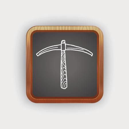 mattock: pickaxe doodle