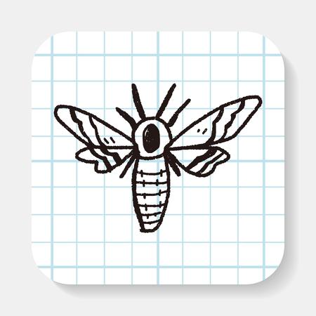 moth: Moth doodle
