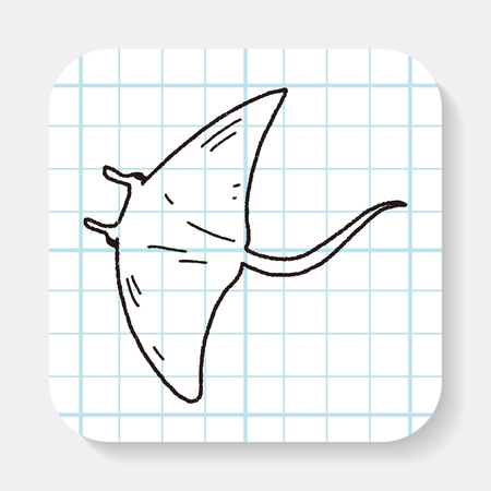 stingray: Stingray doodle