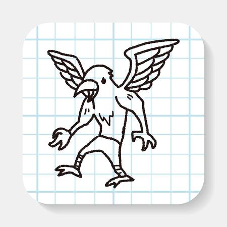 griffin: griffin doodle