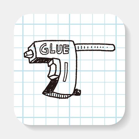 resistol: Doodle de pistola de pegamento