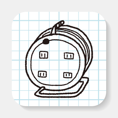 extension: Extension cord doodle