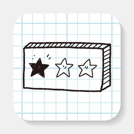 별: star doodle