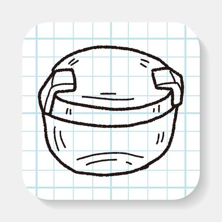 plastic: plastic doos doodle