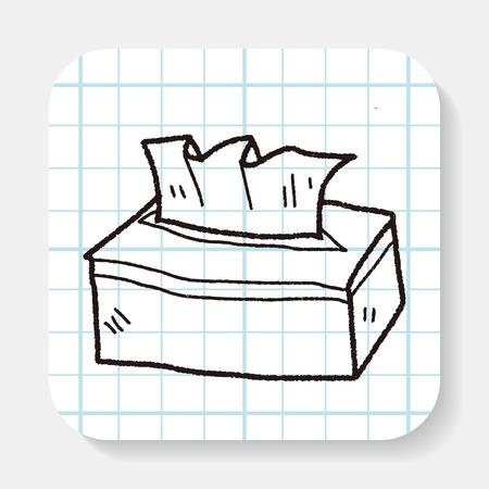 facial tissue doodle