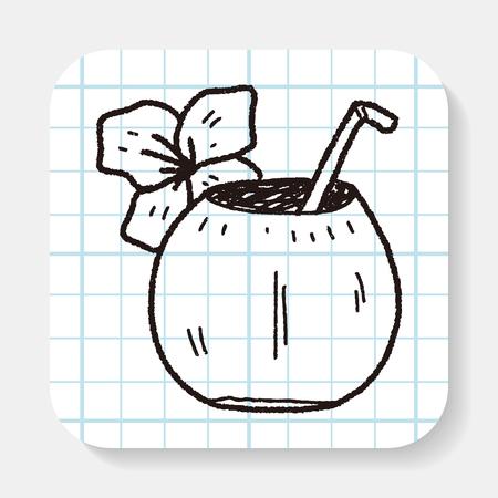 yoghurt: coconut milk doodle