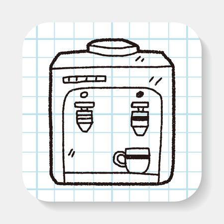 drink machine doodle