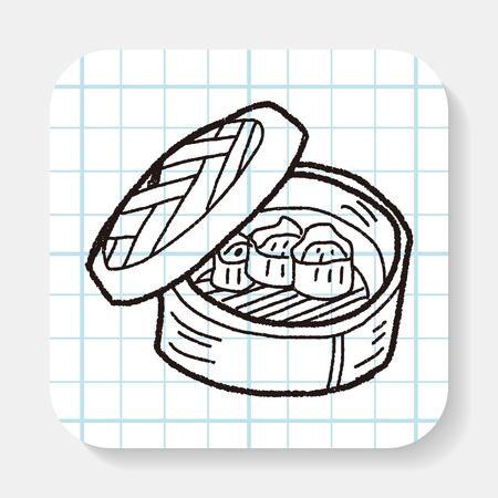 russian cuisine: dumpling doodle