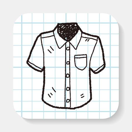 men shirt: shirt doodle