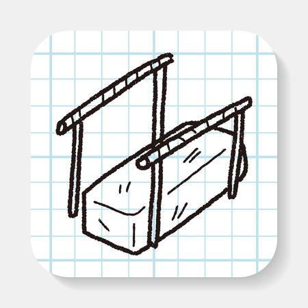 parallel: parallel bar doodle
