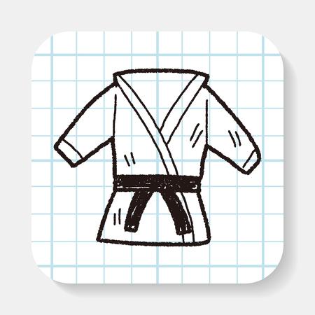 arts symbols: karate doodle