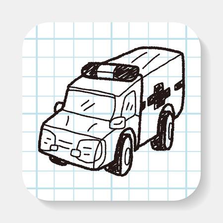 ambulancia: Doodle de Ambulancia