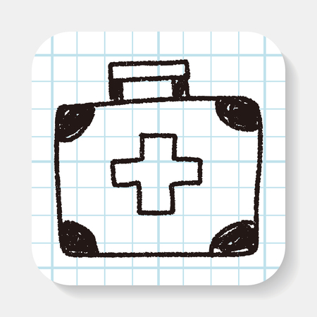 case: medicine case doodle drawing