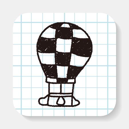 air: Doodle Hot Air Balloon