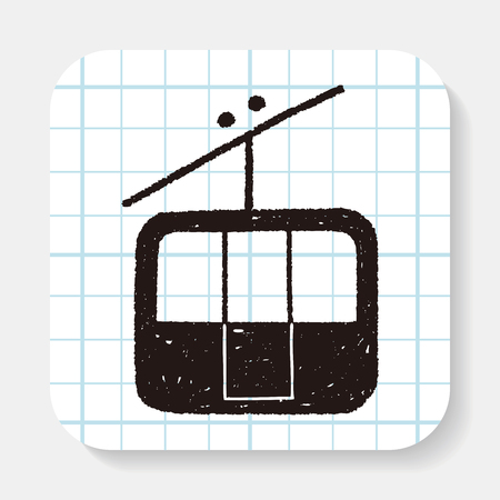 rope way: doodle cable car