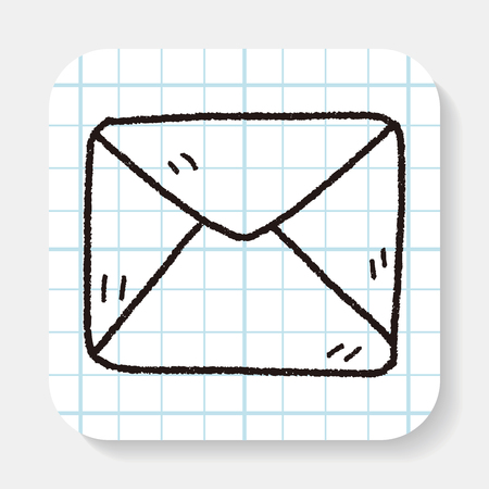 by mail: Doodle Mail Illustration