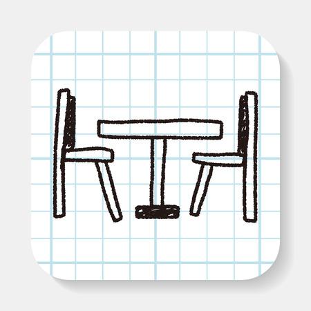 doodle art: doodle table
