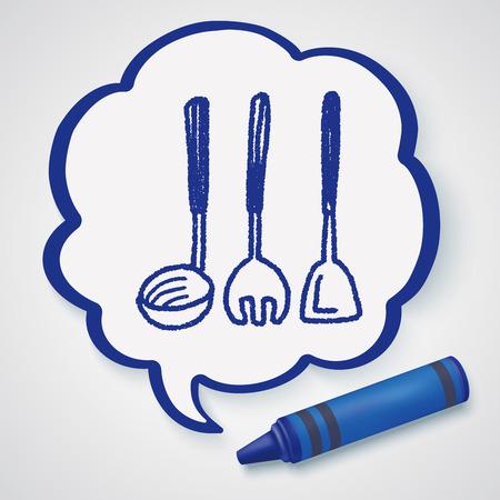 kitchenware: Doodle Kitchenware