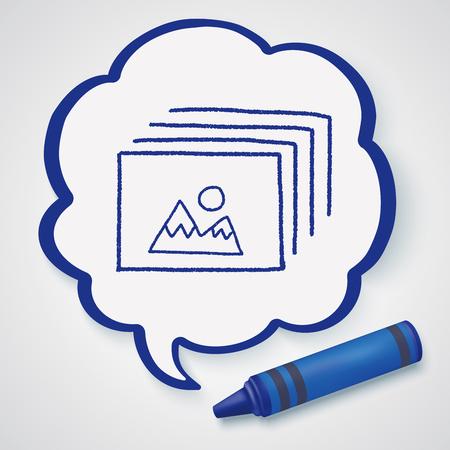 graphic elements: Doodle Photo