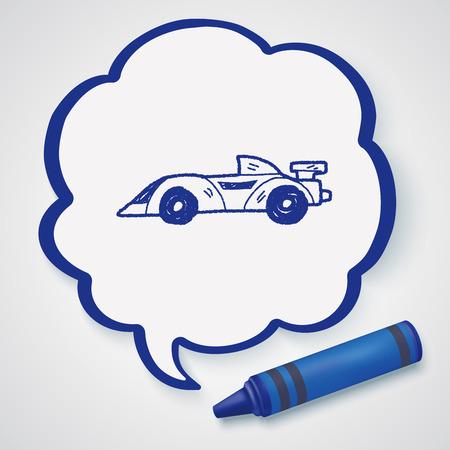 racing: racing doodle