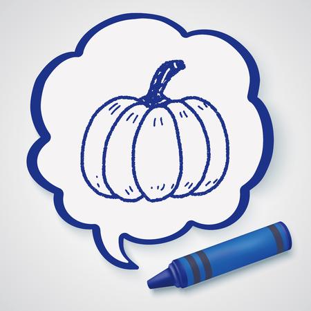 cushaw: Pumpkin doodle