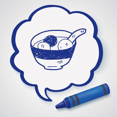 клецка: dumpling doodle