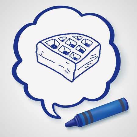 waffle: waffle doodle