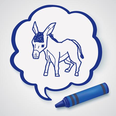 ass donkey: donkey doodle