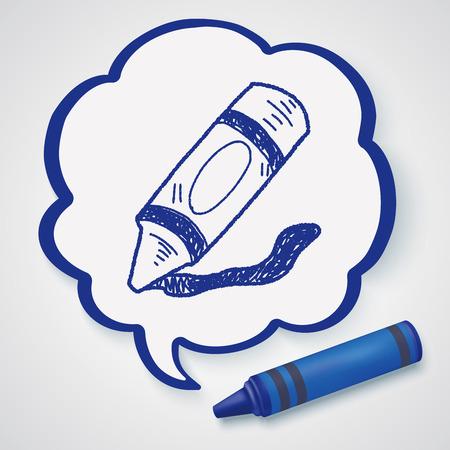 crayon: Crayon doodle