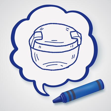 plastic box: plastic box doodle