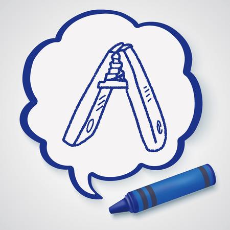clothespin: clothespin doodle