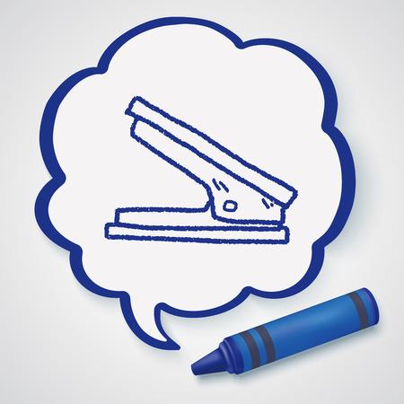 stapler: Stapler doodle