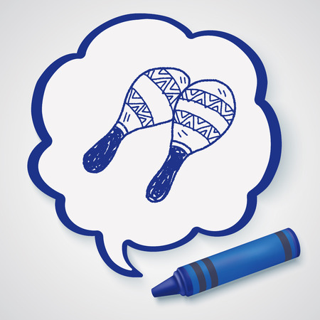 maraca: maraca doodle
