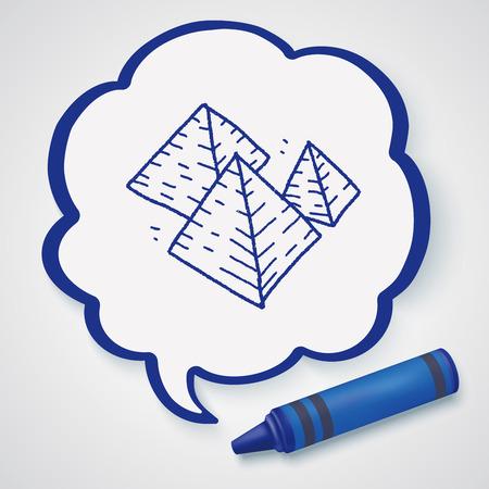 illuminati: Pyramid doodle