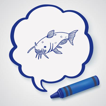 bagre: Catfish doodle