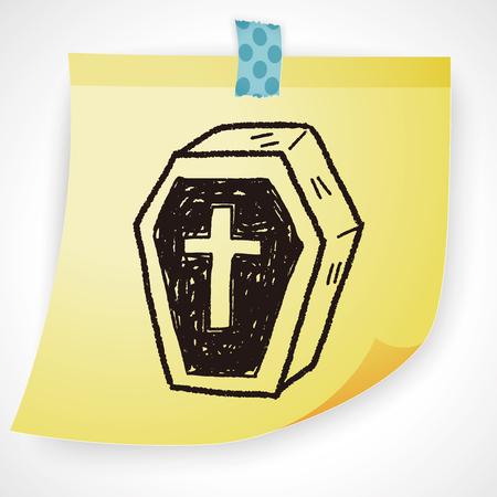 coffin: Coffin doodle