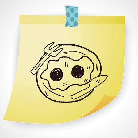 sunny side up: egg doodle