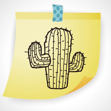 growth hot: doodle cactus