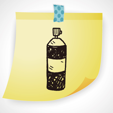 insecticide: Insecticide doodle Illustration