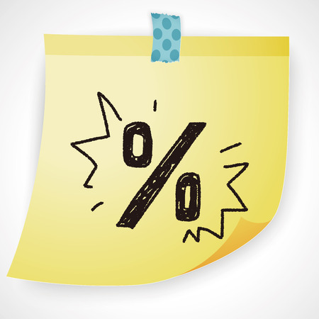 the percentage: percentage doodle